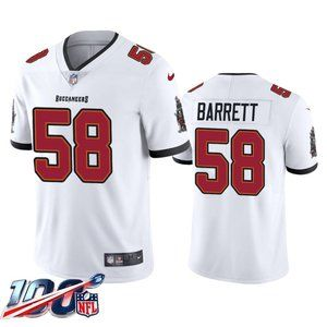Tampa Bay Buccaneers Shaquil Barrett White Jersey